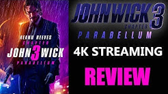 JOHN WICK 3: Parabellum 4K Digital Stream Review