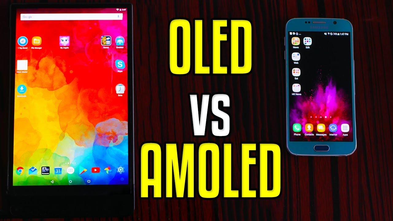 oled vs amoled which is better display 4k youtube. Black Bedroom Furniture Sets. Home Design Ideas