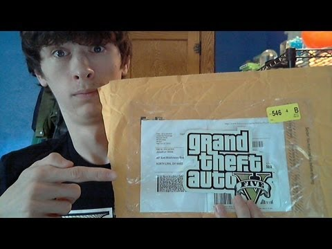 ★ GTA 5 - Unboxing My Prize from Rockstar Games!