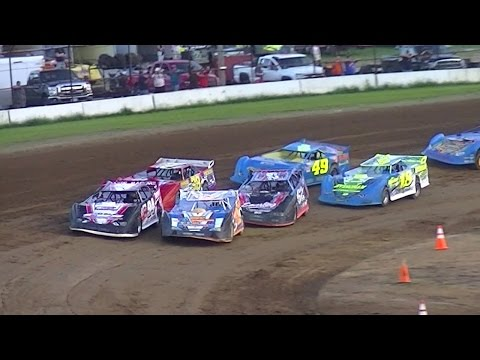 RUSH Crate Late Model Heat Three | McKean County Raceway | 8-18-16