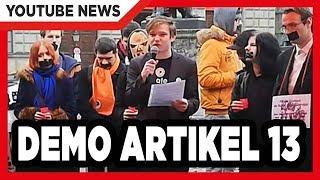 Demonstration gegen Artikel 13 (Exklusives Material) #saveyourinternet