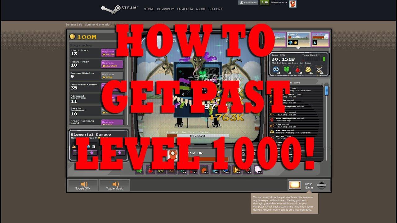 steam level 1000