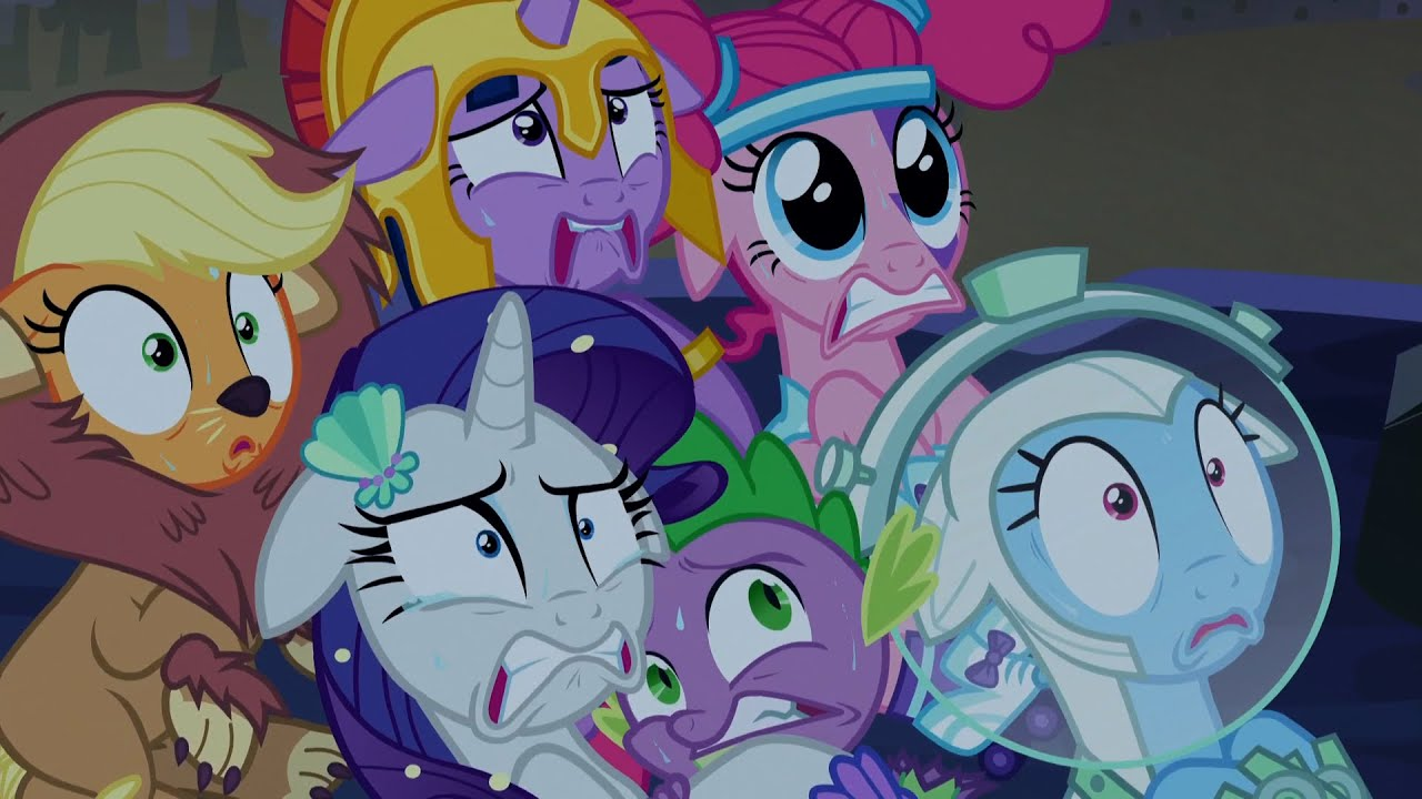 the mane 6 enter the corn maze of terror my little pony