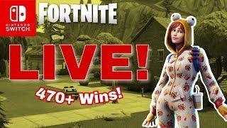 Creative! Fornite Live Nintendo Switch Livestream Fortnite Battle Royale!