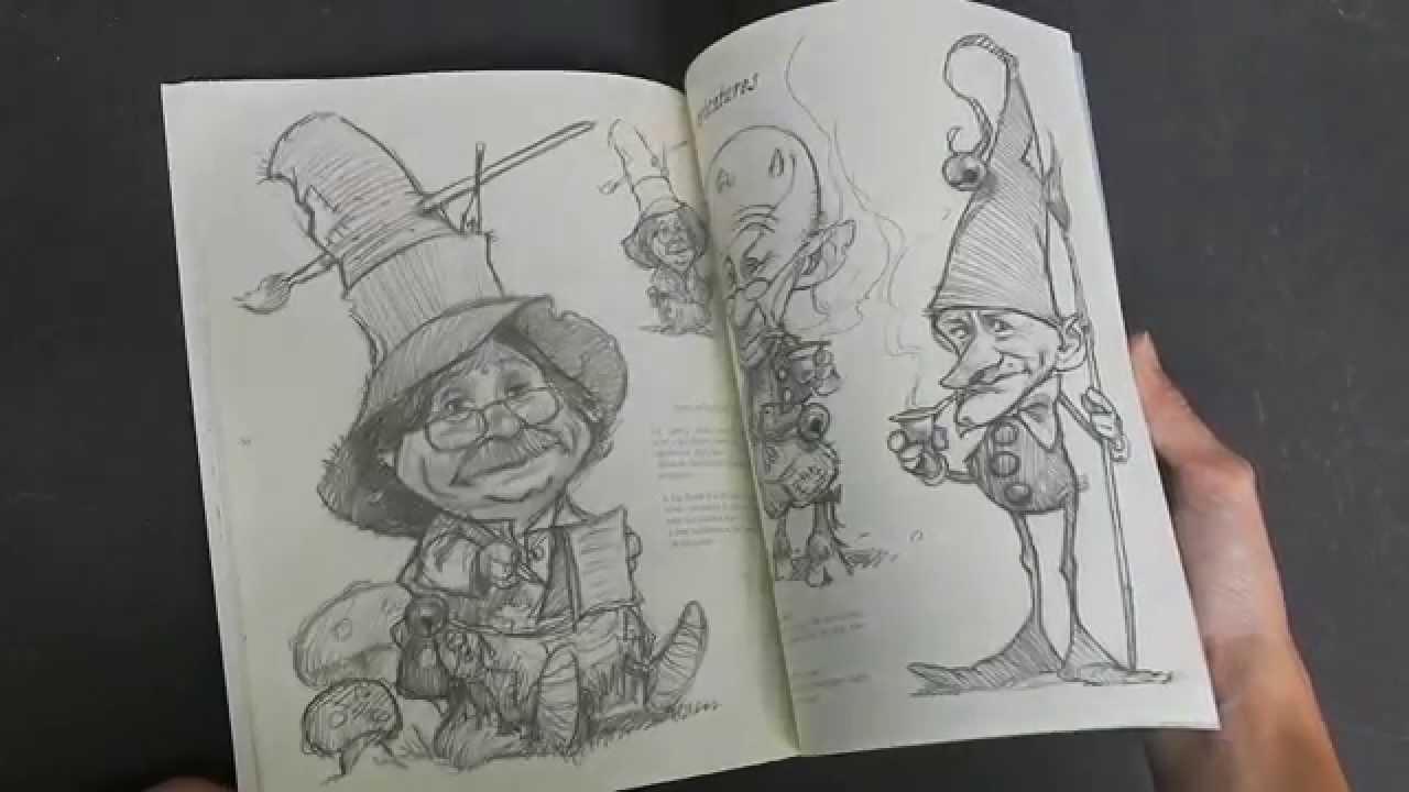 Jean-Baptiste Monge Sketchbook