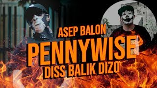 Download Mp3 Asep Balon - Pennywise  Diss Balik Dizo  React !!!