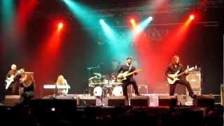 [HD] Rhapsody - Emerald Sword (PPM Fest 2012, Belgium)