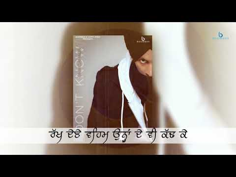 Don't Know | Sebi Gahaur | Full Video | Latest Punjabi Songs 2018 | Boombox Music