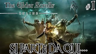 The Elder Scrolls Online - Si parte da qui | PS4 Gameplay Ita