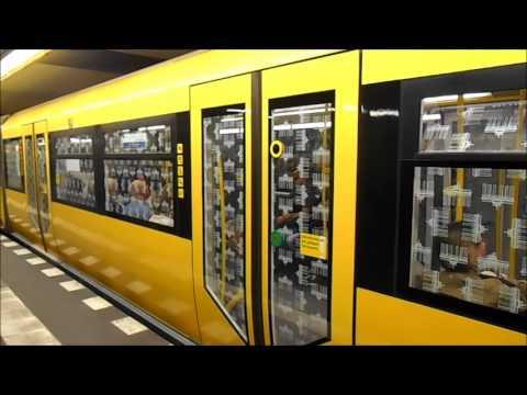 U-Bahn Berlin - U-Bahnhof Jungfernheide U7