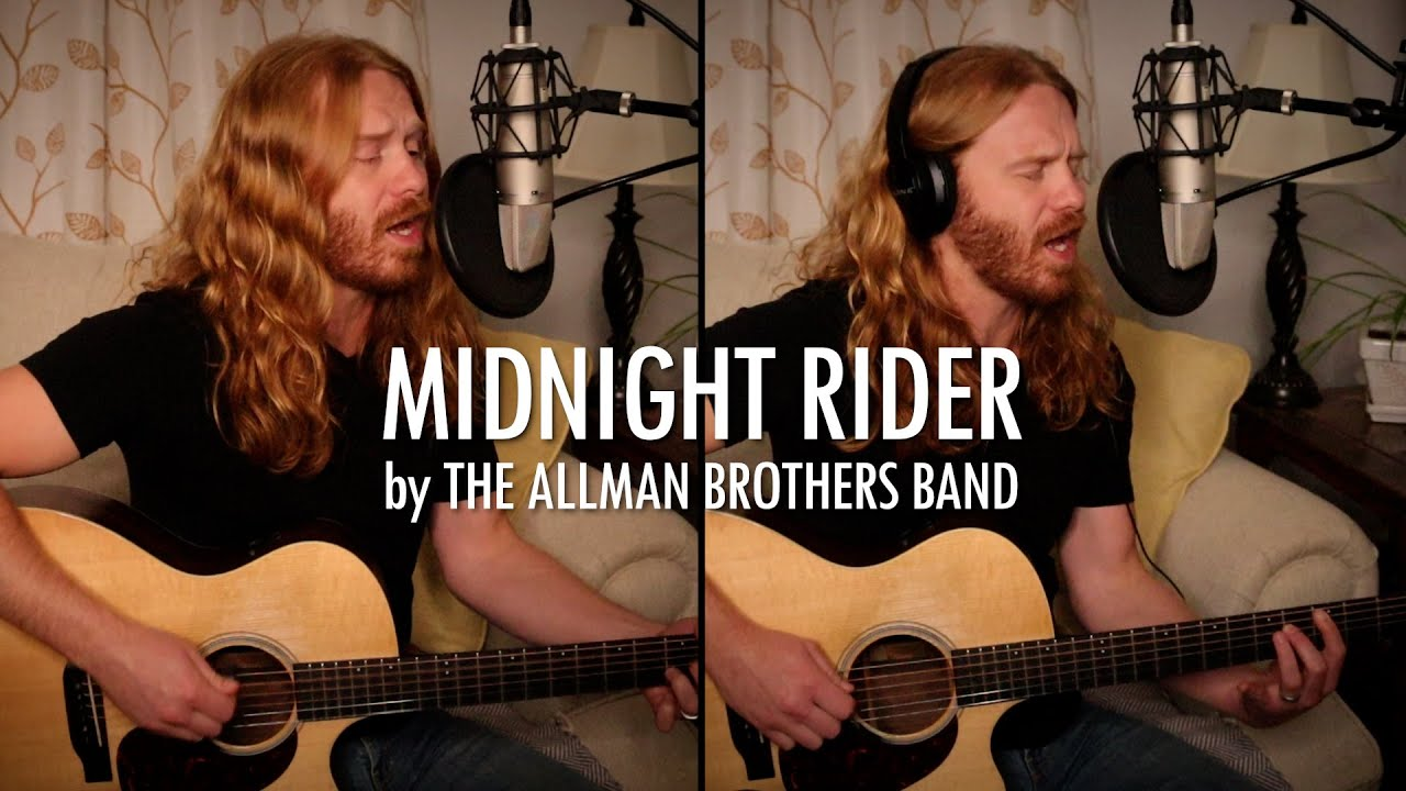 """""""Midnight Rider"""" by The Allman Brothers Band - Adam Pearce (Acoustic Cover)"""