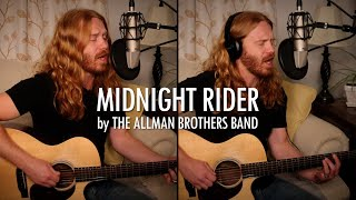 """Midnight Rider"" by The Allman Brothers Band - Adam Pearce (Acoustic Cover)"