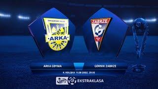Arka Gdynia - Górnik Zabrze 1-1 | Skrót meczu 11.08.2018 [HD]