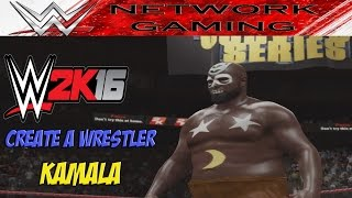 WWE 2K16 Create a Superstar Kamala CAW Community Creations PS4 / XBOX ONE