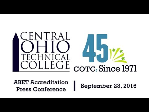 COTC Engineering ABET Accreditation Press Conference