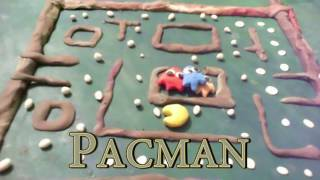 pacman ANIMATION Play doh