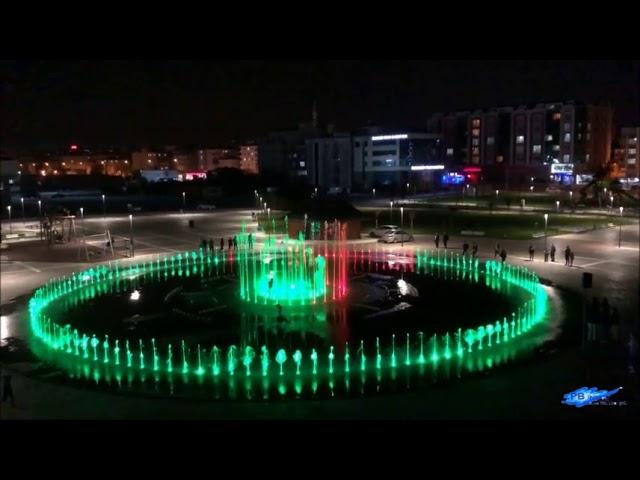 Müzikli Danslı Fıskiye Sistemleri Tekirdağ Çerkezköy Kentpark - Muhteşem Yüzyıl