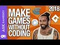 Make Games Without Coding by Using These