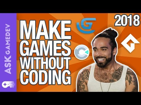 Make Games Without Coding By Using These Engines!