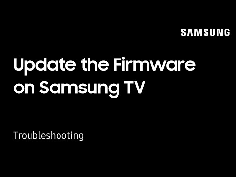 How To Update The Firmware On Your Samsung TV | Samsung US