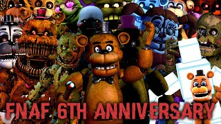 [FNAF SFM] Five Nights at Freddy's 6th Anniversary (FNAF Fanko Remix)