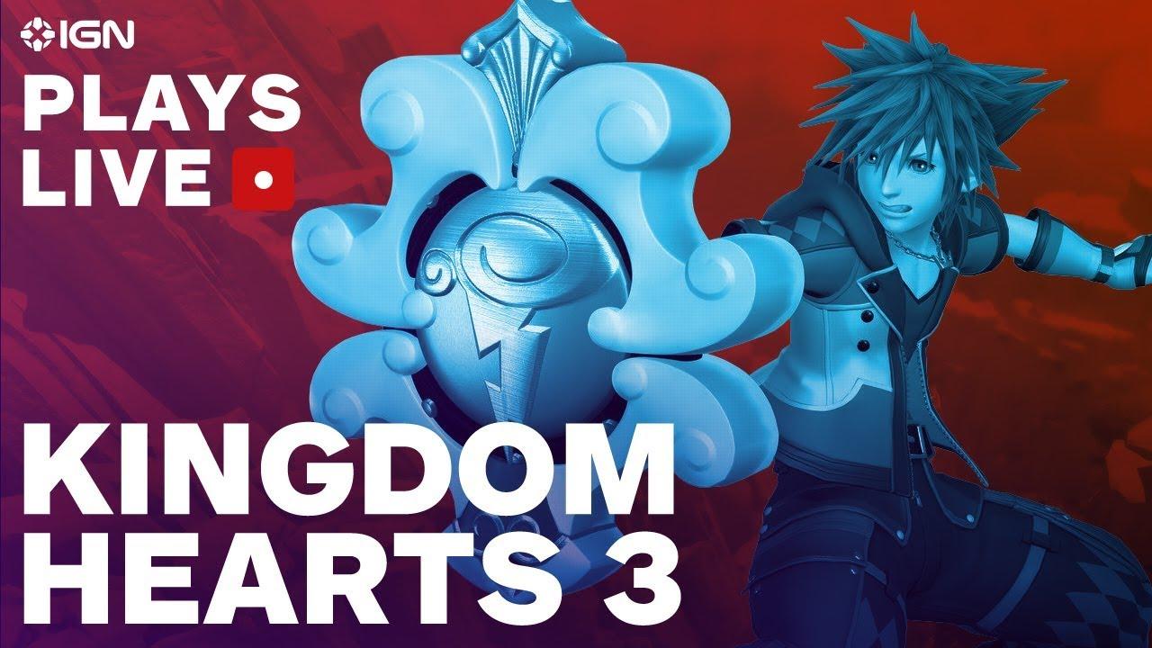 Was Kingdom Hearts 3 Worth The Wait Ign Plays Live Youtube
