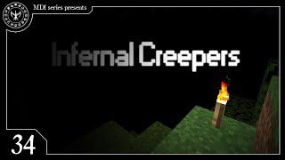 Creepypasta #34 - Infernal Creepers | (Minecraft - Los creepers del infierno)