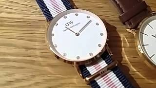 three aliexpress dw daniel wellington watches
