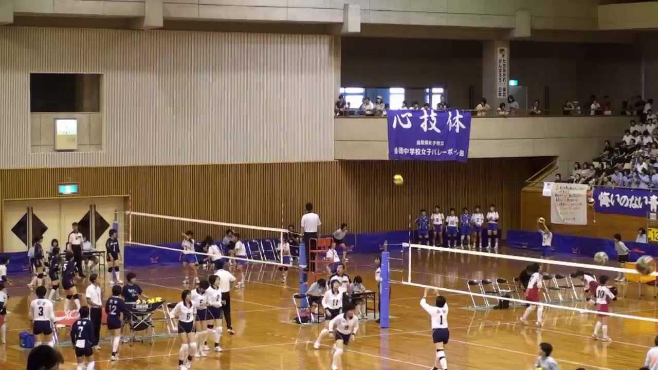 2012広島市立安佐南中vs岡山理大...