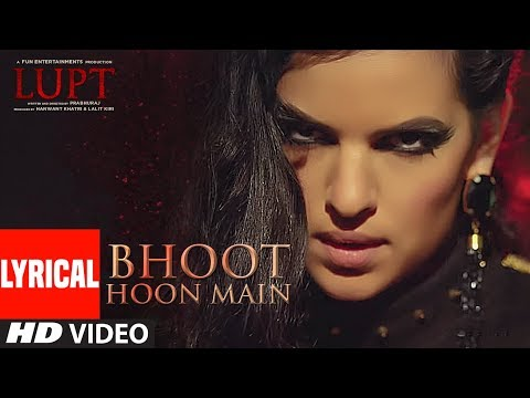 Bhoot Hoon Main Lyrical  | LUPT |  Ft. Natasa Stankovic | Jaaved Jaaferi Vijay Raaz | Vicky & Hardik