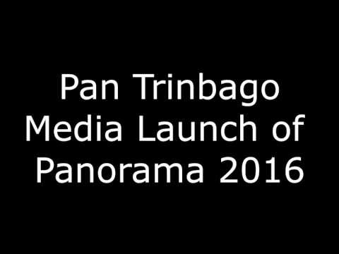 Pan Trinbago media launch - for Panorama 2016 - 91.1 broadcast