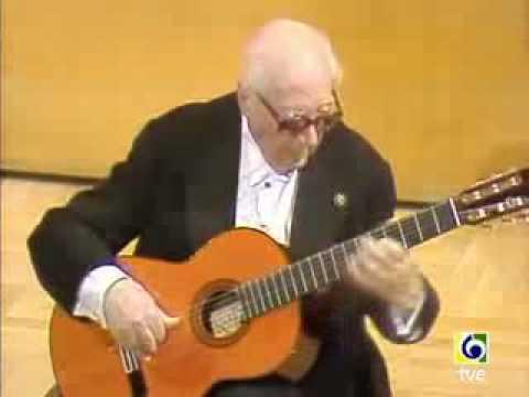 Andres Segovia : Prelude 1 Villa-Lobos ( 1986 )