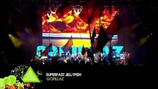 Gorillaz Live at Glastonbury (HD) - Superfast Jellyfish