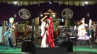 2016年9月21日に宮地嶽神社の秋季大祭のイベントステージにて、個性派ガ...