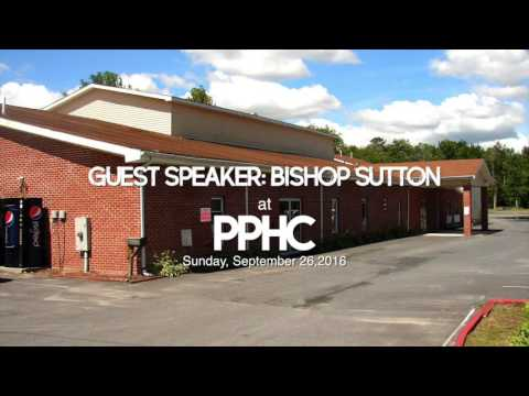 Bishop Sutton at PPHC 9262016