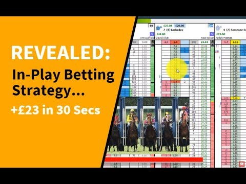 REVEALED: In-Play Betting Strategy... +£23 (in 30 Seconds)
