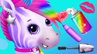 Fun Horse Care Games - Pony Makeup, Dress Up Color Hair Salon Makeover Kids & Girls Games