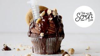 ultimate nutella cupcakes the scran line