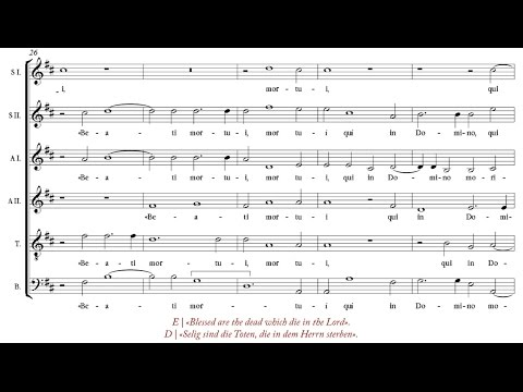 Duarte Lobo | Audivi vocem [á 6; The Choir of Queen's College, Oxford]