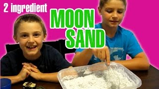 2 Ingredient Moon Sand Or Cloud Dough
