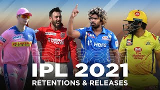 IPL 2021: Who's released? Who's retained? Find out