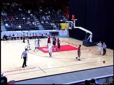 Jordan Kidd - Yakima Valley College Mens Basketball (1st Half Part 1)