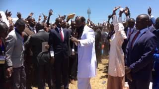 The power of the Holy Spirit - Dr.Prophet Owour in Nakuru, Kenya 2016.