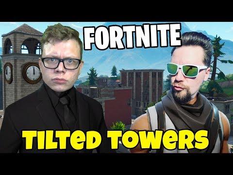 WHIPPIT vs FIGGEHN I FORTNITE *TILTED TOWERS* Playground