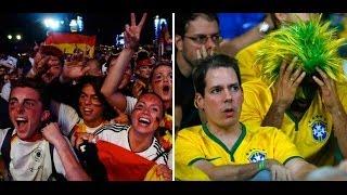 Germans party hard, Brazilians broken after 7-1 history-maker