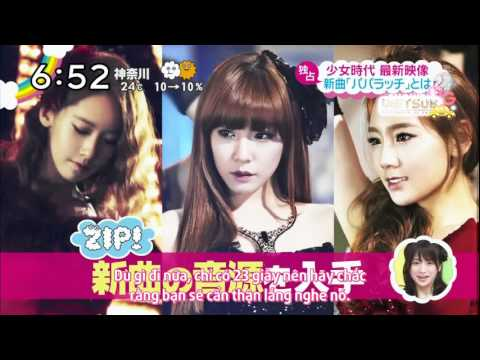 [MG SUBS][Vietsub] SNSD news cut - PAPARAZZI preview
