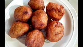 Gulgula (BananaFig Fritters)