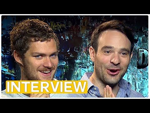 Marvel's Defenders - Daredevil & Iron Fist (2017) exclusive interview