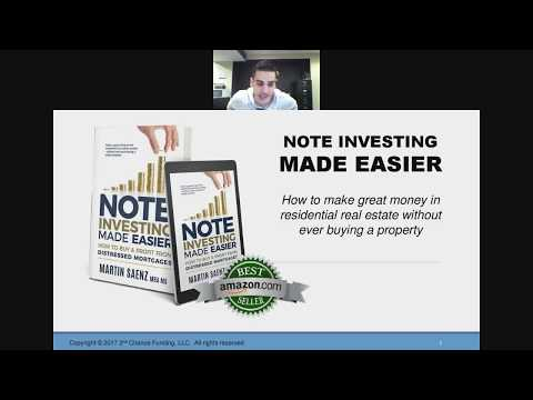 Note Investing Made Easier Webinar - MJS Financial
