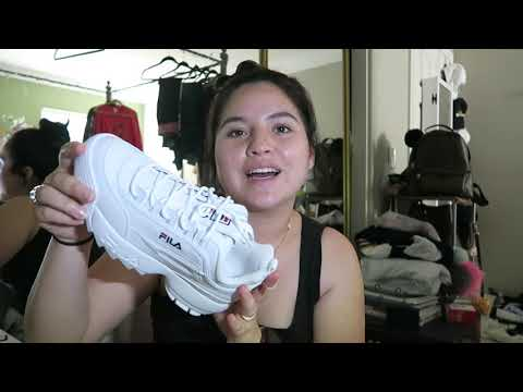 Shoe Haul || Nike & Fila